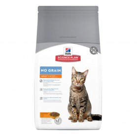 Pienso Hill's Science Plan Feline Adult No Grain Pollo para gatos