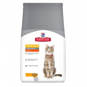 Pienso Hill's Science Plan Feline Adult Urinary Sterilized Cat Pollo