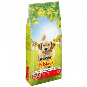 Purina Friskies VitaFit Active con Buey, pienso para perros
