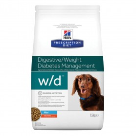 Pienso Hill's Prescription Diet Canine w/d mini