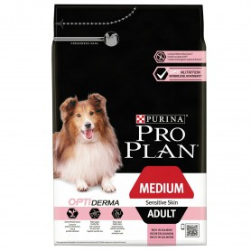 Pienso Purina Pro Plan Medium Adult Sensitive Skin para perros adultos