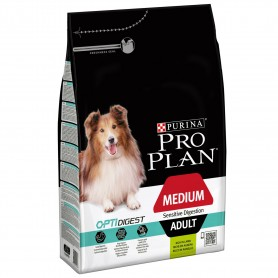 Pienso Purina Pro Plan Medium Adult Sensitive Digestion para la digestión de tu perro