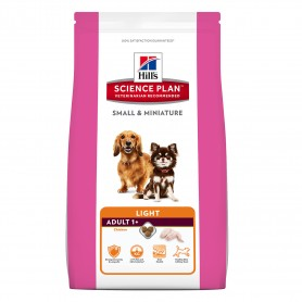 Pienso para perros Hill's Science Plan Adult Light Small & Miniature