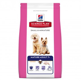 Pienso para perros Hill's Science Plan Mature 7+ Small & Miniature