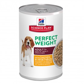 comida húmeda Hill's Science Plan Perfect Weight Canine Latas