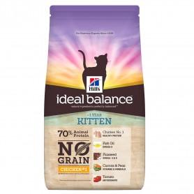 Pienso Hill's Ideal Balance Kitten No Grain con Pollo y Patata