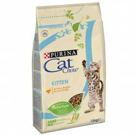 Pienso Cat Chow Kitten Pollo para gatos