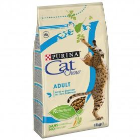 Pienso Cat Chow Adult Salmón y Atún para gatos