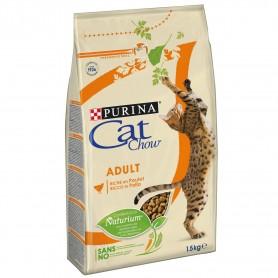 Pienso para gatos Cat Chow Adult Pollo y Pavo