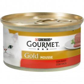 comida húmeda Purina Gourmet Gold Mousse Buey