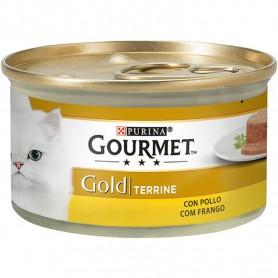 comida húmeda para gato Purina Gourmet Gold Tarrine con Pollo