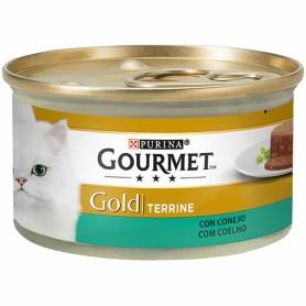 comida húmeda Purina Gourmet Gold Tarrine con Conejo